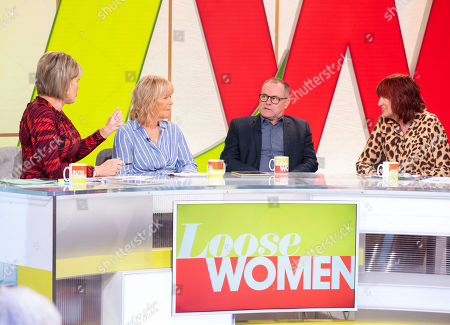 Ruth Langsford, Linda Robson, Jack Dee and Janet Street-Porter