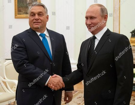 Prime MInister of Hungary Viktor Orban visit to Moscow