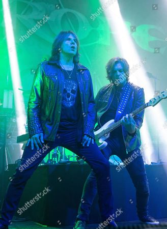 Stock Photo of Europe The Band - Joey Tempest and John Leven