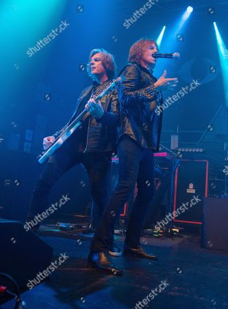 Editorial photo of Europe The Band in concert, O2 Academy, Newcastle, UK - 17 Sep 2018