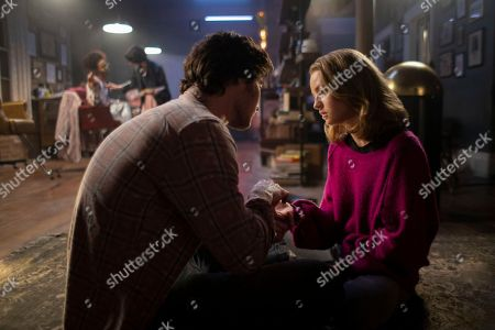 Chase Strokes as Finn, Anna Jacoby-Heron as Denise Hagerty