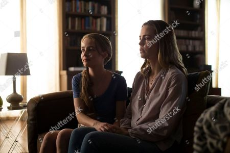 Anna Jacoby-Heron as Denise Hagerty, Melissa George as Diane Hagerty