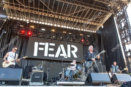 Fear - Eric Razo, Spit Stix, Lee Ving and Geoff Kresge