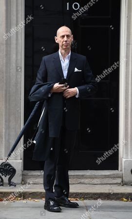 British fashion photographer Nick Knight  arrives to a reception hosted by Britain's Prime Minister in 10 Downing Street in London, Britain, 18 September 2018. The London Fashion Week featuring the Women's Spring-Summer 2018-2019 collections runs from 14 to 18 September.