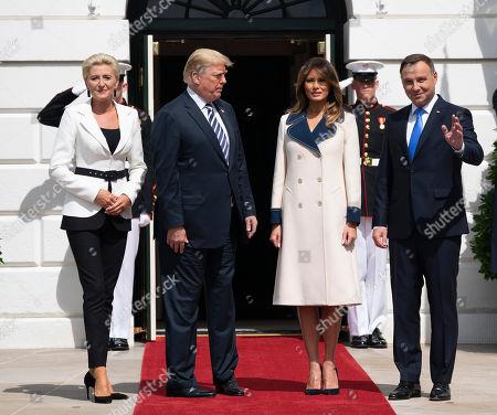 President of Poland Andrzej Duda visit to Washington DC
