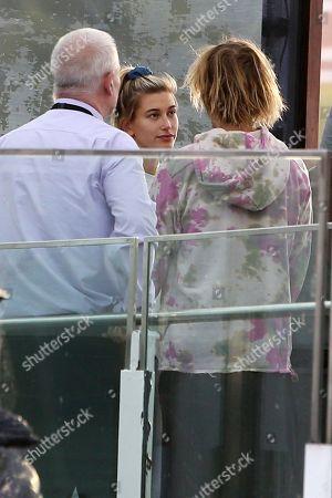 Justin Bieber and Hailey Baldwin visit the London Eye