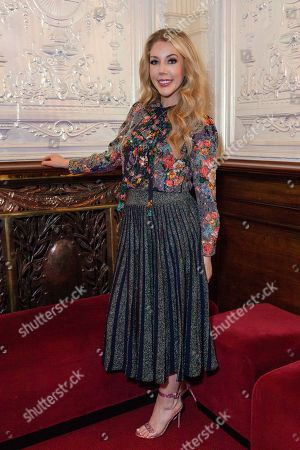 'Katherine Ryan Glitter Room' comedy show opening night, London