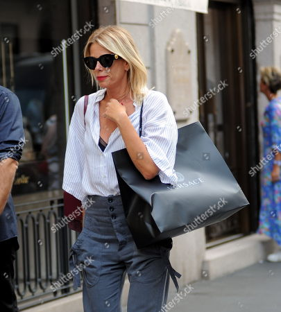 Alessia Marcuzzi out and about, Milan