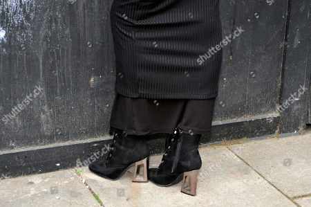 Stock Picture of Real Feriel, shoe detail
