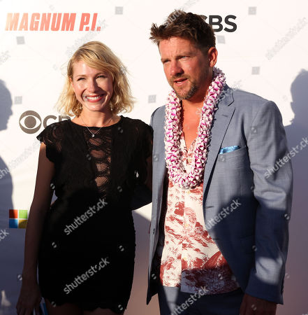 the new Orville ''rick'' Wright of Magnum is Zachary Knighton, seen here on the red carpet during the Hawaii Five-O and Magnum P.I. Sunset On The Beach event on Waikiki Beach in Honolulu, Hawaii - Michael Sullivan/CSM