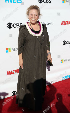 Comedian Amy Hill during the Hawaii Five-O and Magnum P.I. Sunset On The Beach event on Waikiki Beach in Honolulu, Hawaii - Michael Sullivan/CSM