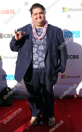 the lovable Jorge Garcia on the red carpet during the Hawaii Five-O and Magnum P.I. Sunset On The Beach event on Waikiki Beach in Honolulu, Hawaii - Michael Sullivan/CSM