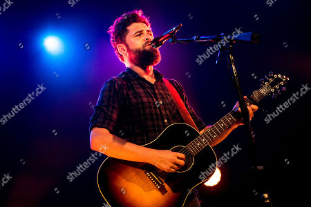 Passenger, pseudonym of Michael David Rosenberg, performs live at Alcatraz