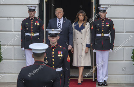 United States President Donald J. Trump, First lady Melania Trump