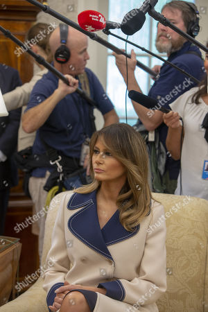 Stock Image of First lady Melania Trump