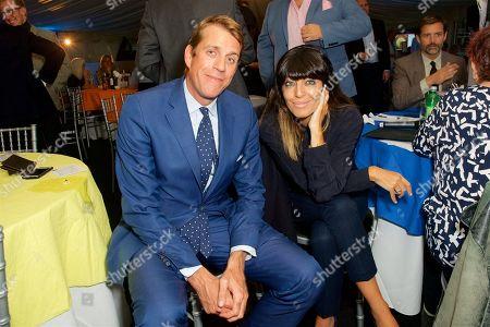 Ben Elliot and Claudia Winkleman