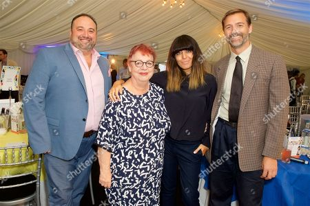 Wynne Evans, Jo Brand and Claudia Winkleman and Patrick Grant