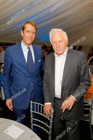 Ben Elliot and David Dimbleby