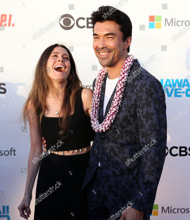 Ian Anthony Dale on the red carpet during the Hawaii Five-O and Magnum P.I. Sunset On The Beach event on Waikiki Beach in Honolulu, Hawaii - Michael Sullivan/CSM