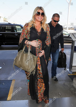 Jessica Simpson at LAX International Airport, Los Angeles