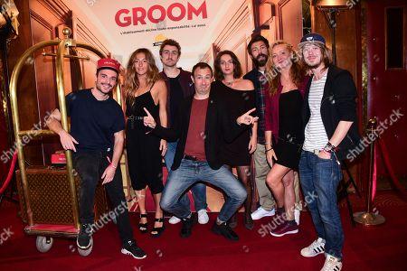Editorial photo of Youtube Originals 'Les Emmerdeurs et Groom' premiere, Paris, France - 18 Sep 2018