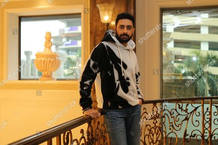 Bollywood actor Abhishek Bachchan poses during an exclusive interview with HT City-Hindustan Times for the promotion of upcoming movie Manmarziyaan, at Radisson Blu