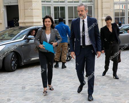 Delphine Geny-Stephann Secretary of State and Sebastien Missoffe DG Google France