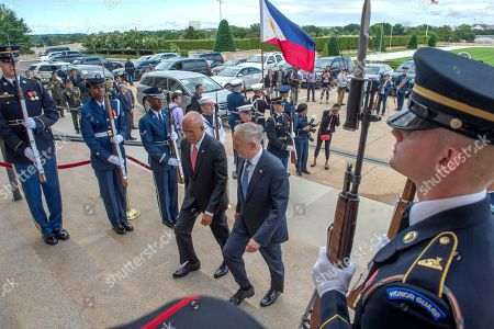 Philippine Secretary of National Defense Delfin Lorenzana visit to Washington DC