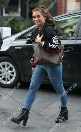 Dani Dyer out and about, London