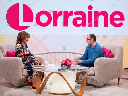 Stock Picture of Lorraine Kelly and Joe Tracini