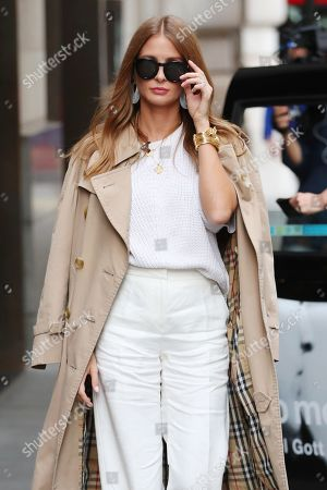 Millie Mackintosh out and about, London