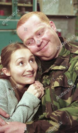 Emily Wylie, as played by Kate McGregor, and Butch Dingle, as played by Paul Loughran
