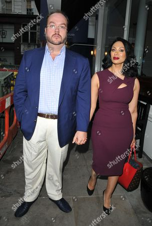 Jonathan Sothcott and Janine Nerissa