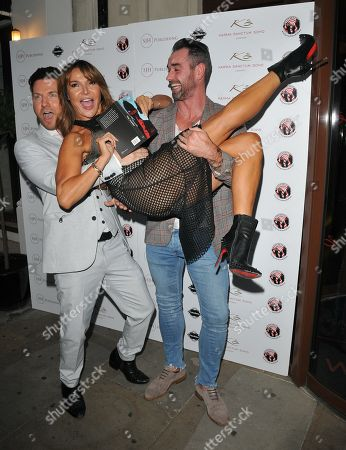 Sam Dowler, Lizzie Cundy and guest