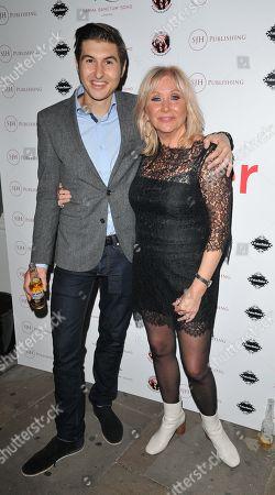 Carol Harrison and her son Alfie Sean Foreman