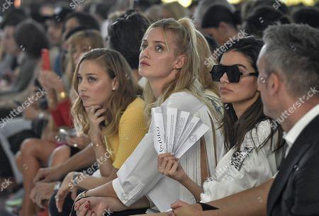 Beatrice Borromeo, Eva Riccobono in the front row