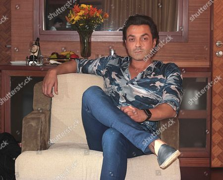 Editorial photo of Bobby Deol photoshoot, New Delhi, India - 19 Sep 2018