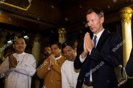 British Foreign Minister Jeremy Hunt visit to Myanmar