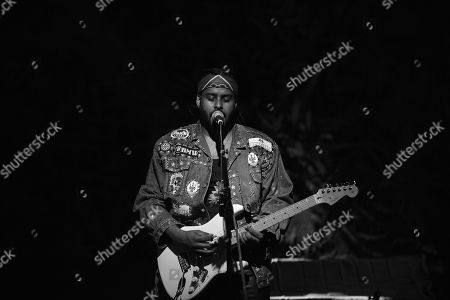 Stock Picture of Twin Shadow performs on stage at Revolution Live