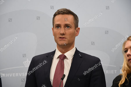 Editorial photo of Government press conference on Danske Bank, Copenhagen, Denmark - 19 Sep 2018