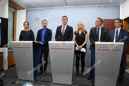 Stock Photo of Minister for Industry, Business and Financial Affairs Rasmus Jarlov