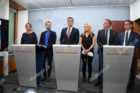 Editorial picture of Government press conference on Danske Bank, Copenhagen, Denmark - 19 Sep 2018