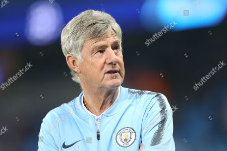 Ass. Manager for Manchester City Brian Kidd during the Champions League match between Manchester City and Olympique Lyonnais at the Etihad Stadium, Manchester