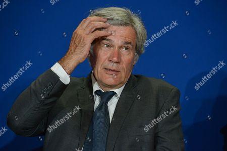 Stephane Le Foll, of Socialist party, Mayor of Le Mans, President of Le Mans Metropole