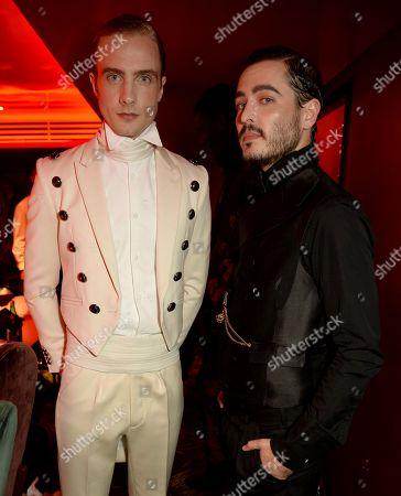 Henry Ashton and Alexander Vlahos