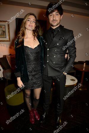 Nettie Wakefield and Alex Zane