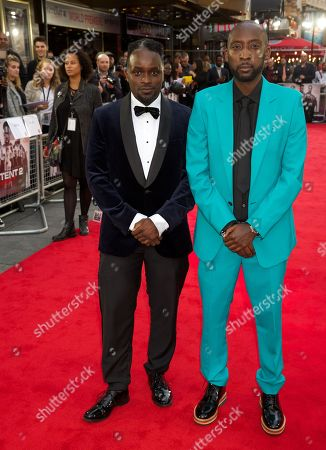 Editorial image of 'The Intent 2: The Come Up' film premiere, London, UK - 19 Sep 2018