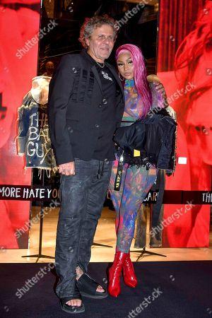 Renzo Rosso and Nicki Minaj