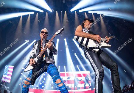 Scorpions - Rudolf Schenker and Matthias Jabs
