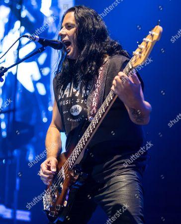 Editorial picture of Scorpions in concert at the Freeman Coliseum, San Antonio, USA - 07 Sep 2018
